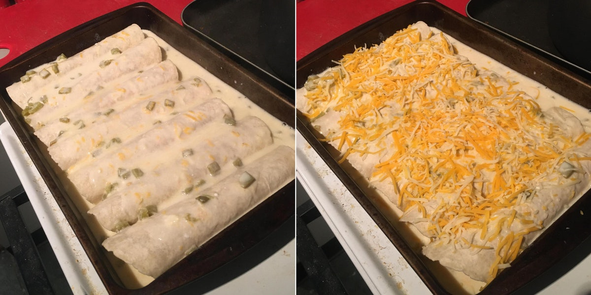 This chicken enchiladas recipe is just like Moira's from 'Schitt's Creek.'