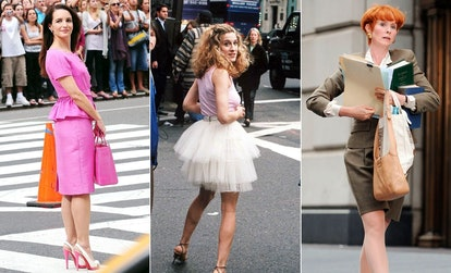 There are a lot of creative ways to channel 'Sex and the City' characters for Halloween costumes.