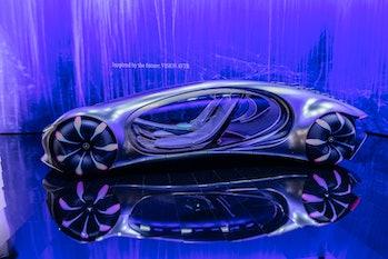 Mercedes-Benz VISION AVTR concept car exterior photo