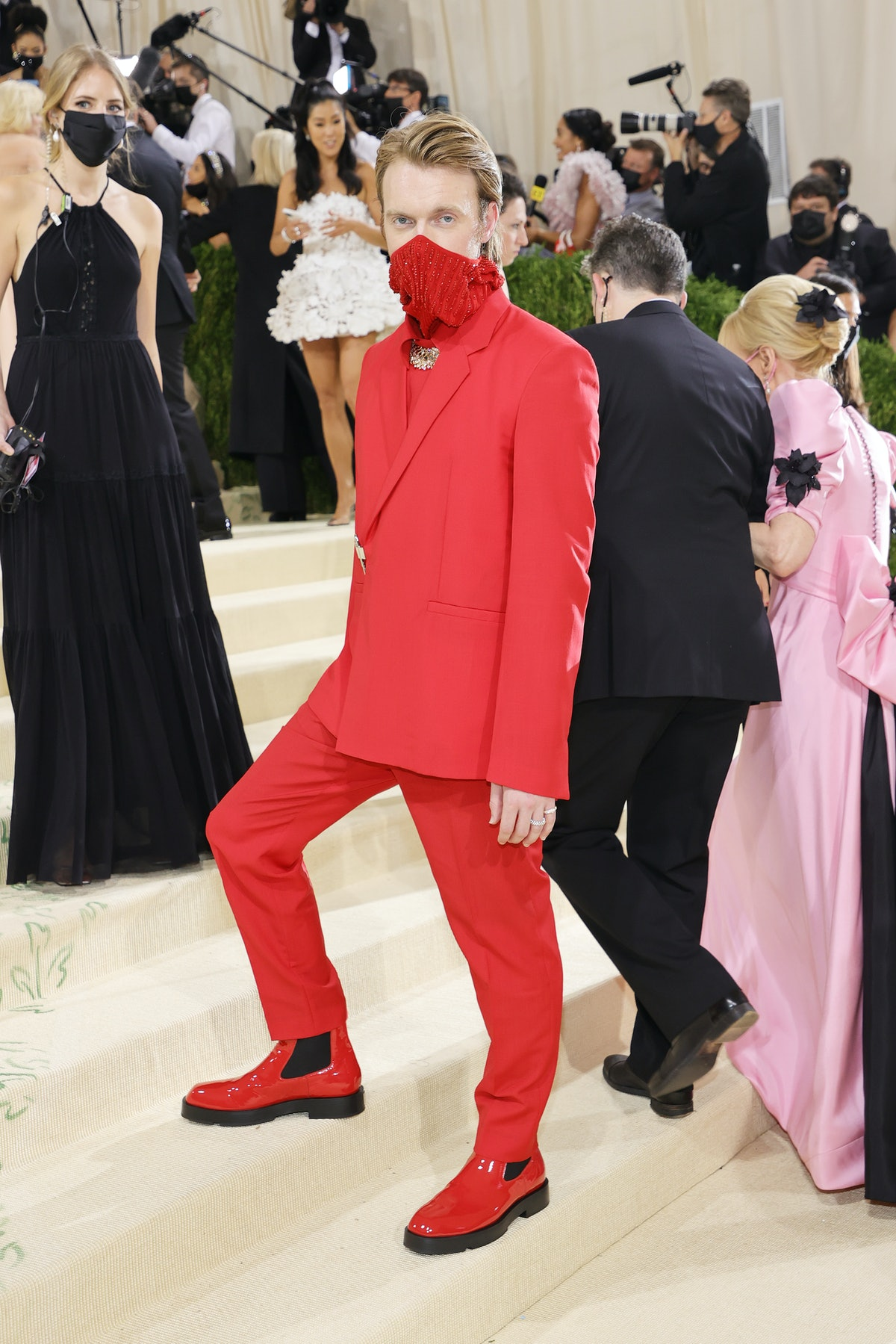 Finneas attends The 2021 Met Gala Celebrating In America: A Lexicon Of Fashion at Metropolitan Museu...