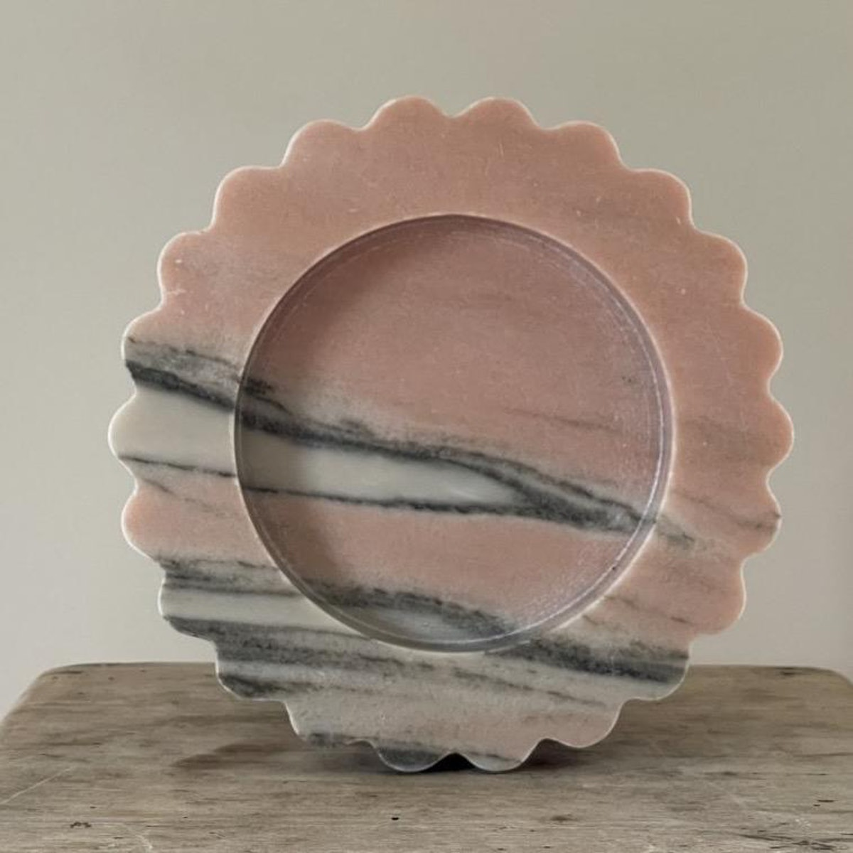 The Sun Tray in Pink Skies