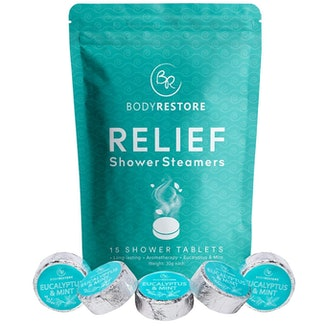 BodyRestore Shower Steamers (15-Pack)