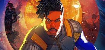 Erik Killmonger in Marvel's What If...?