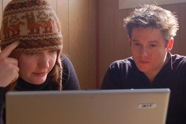 Couchsurfing's Meredith Hutchenson and Casey Fenton, 2009