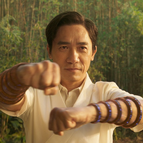 Tony Leung wears magical bangles in 'Shang-Chi and the Legend of the Ten Rings.'