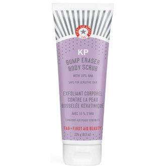 First Aid Beauty  KP Bump Eraser Body Scrub with 10% AHA