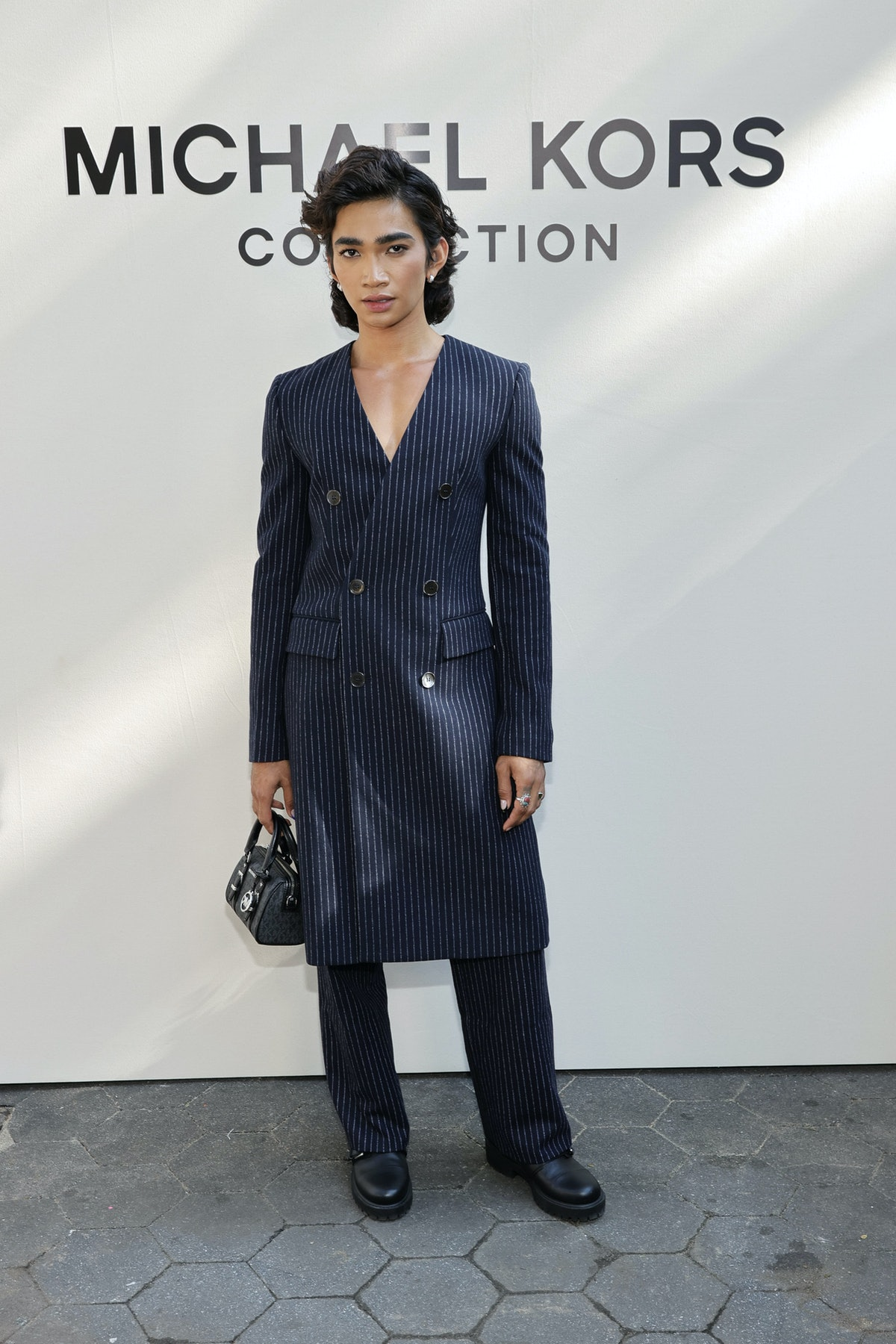 Bretman Rock attends the SP22 Michael Kors Collection Runway Show at Tavern On The Green on Septemb...