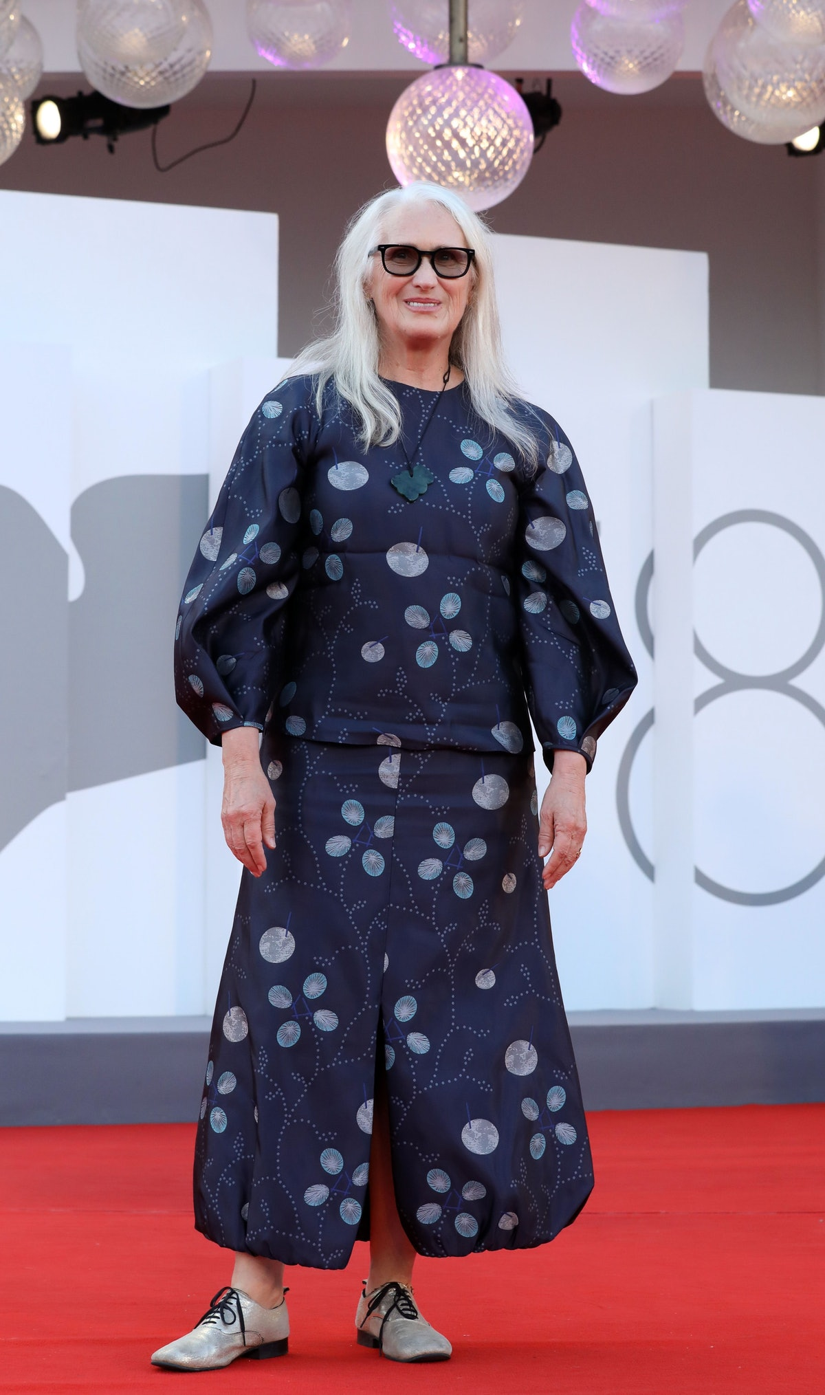 Jane Champion attends the closing ceremony red carpet during the 78th Venice International Film Fest...