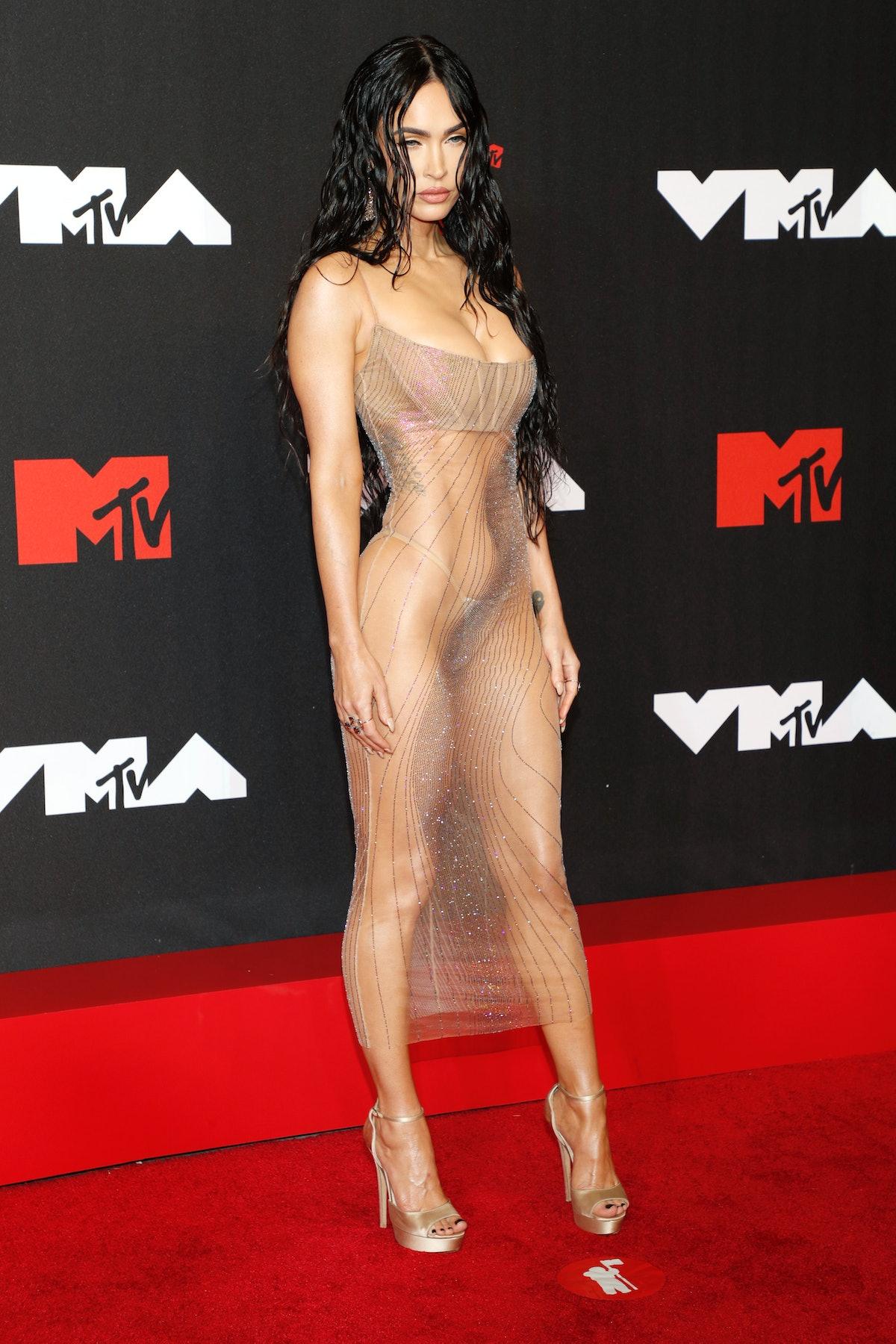 Megan Fox at the 2021 VMAs