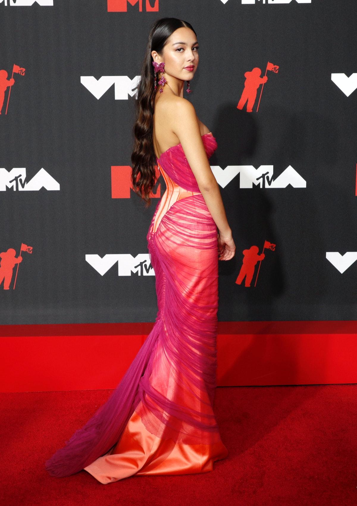 Olivia Rodrigo at the 2021 VMAs
