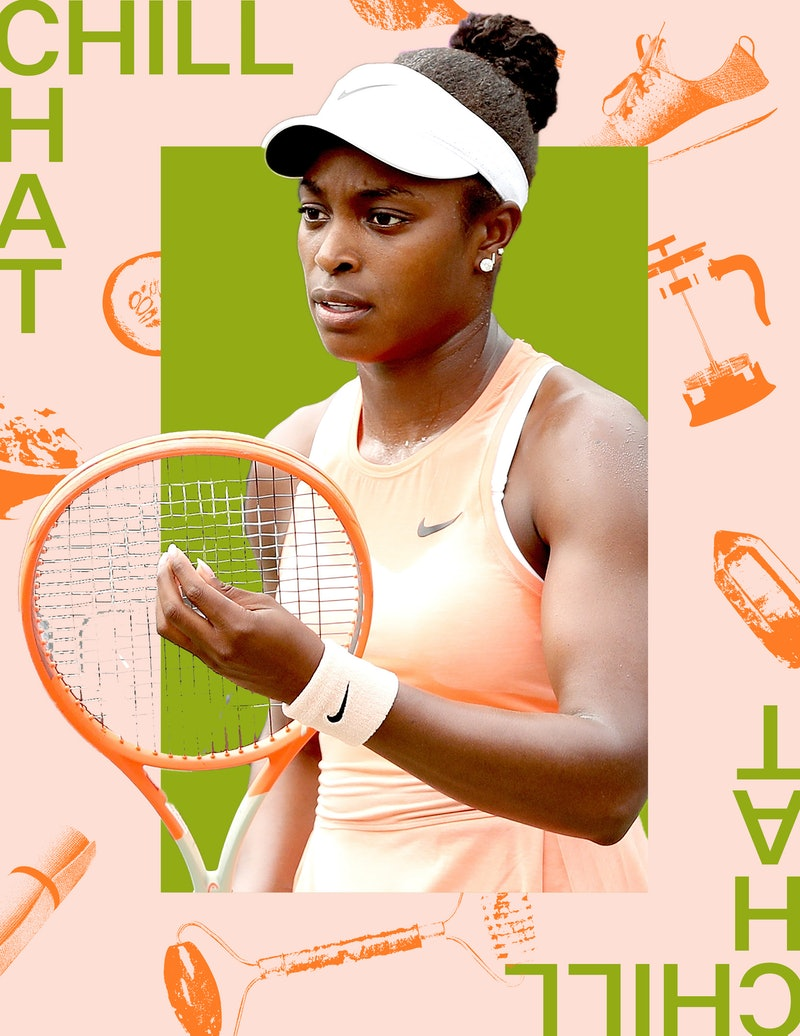 Sloane Stephens on her wellness routine and hydration hacks.