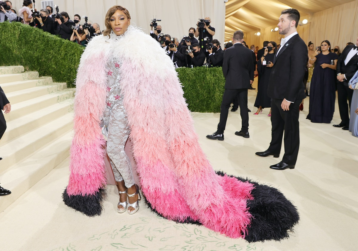Serena Williams attends The 2021 Met Gala Celebrating In America: A Lexicon Of Fashion at Metropolit...