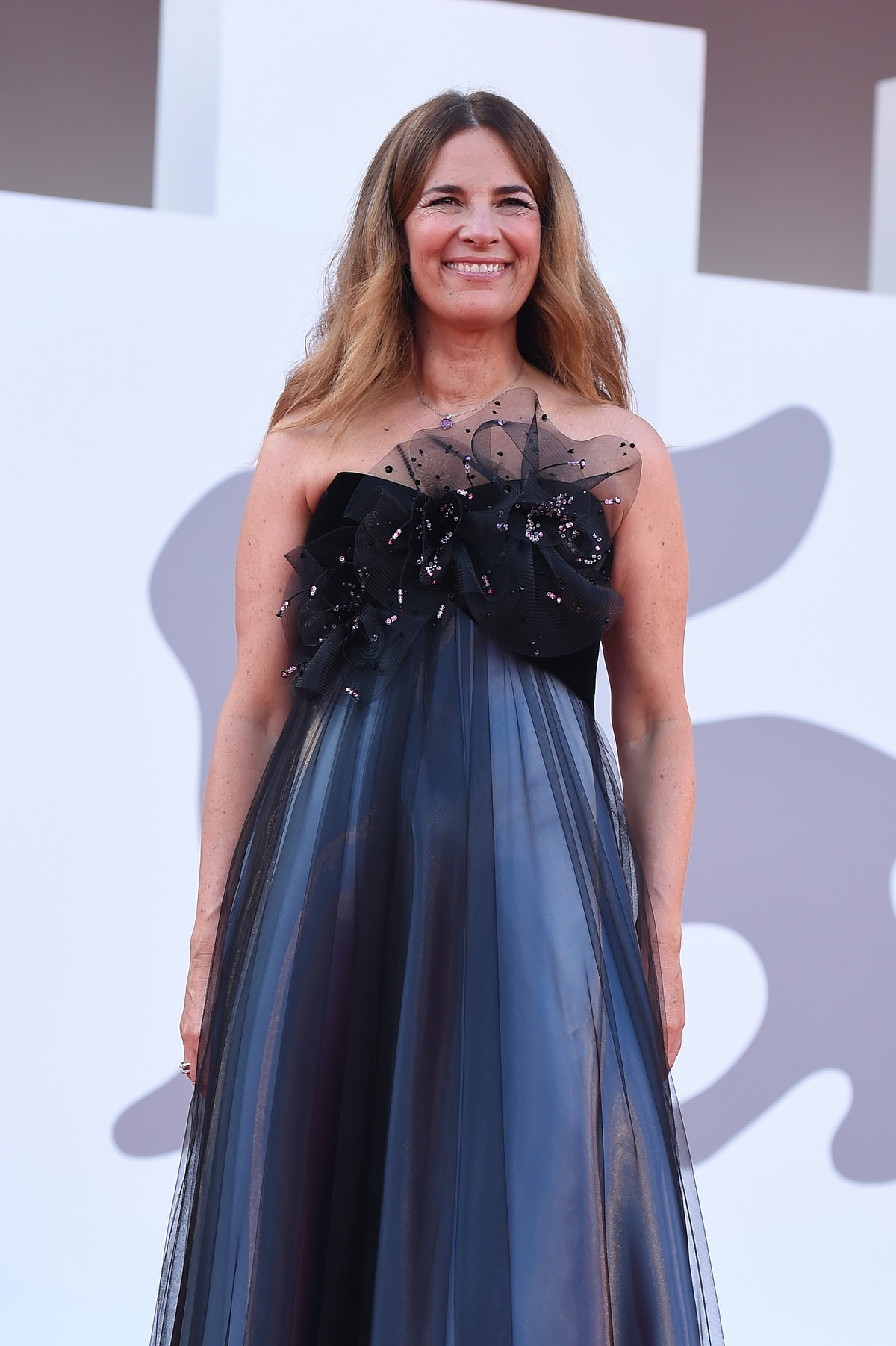 Roberta Armani attends the closing ceremony red carpet during the 78th Venice International Film Fes...