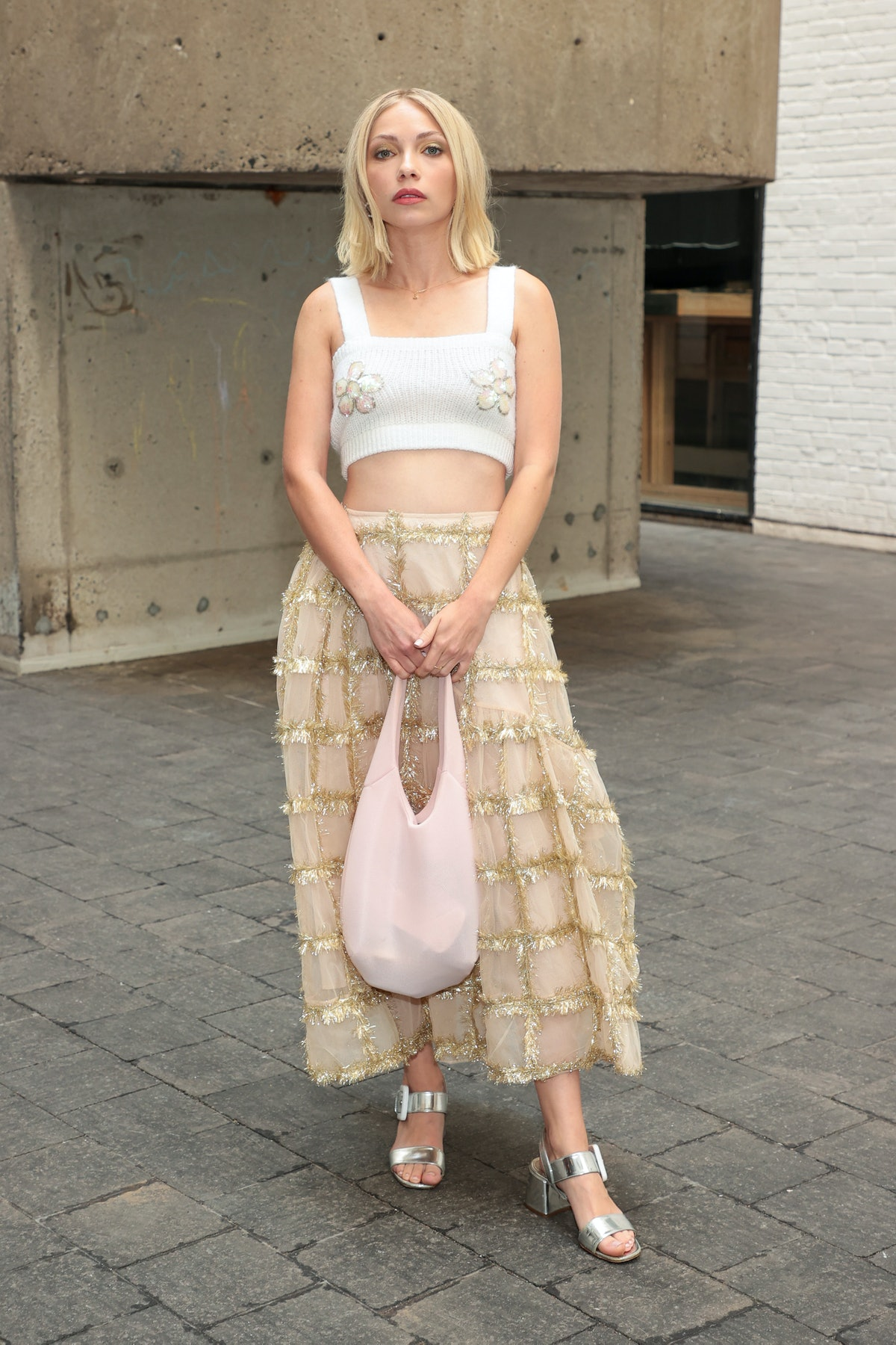 Tavi Gevinson attends the front row for Rodarte during NYFW: The Show on September 11, 2021 in New Y...