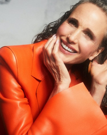 How to get TZR cover star Andie MacDowell's beauty look.