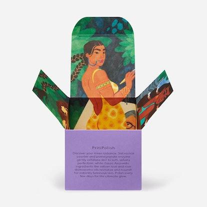 For PritiPolish, Prakti founder Pritika Swarup teamed up with Bangalore-based artist Sudeepti Tucker...