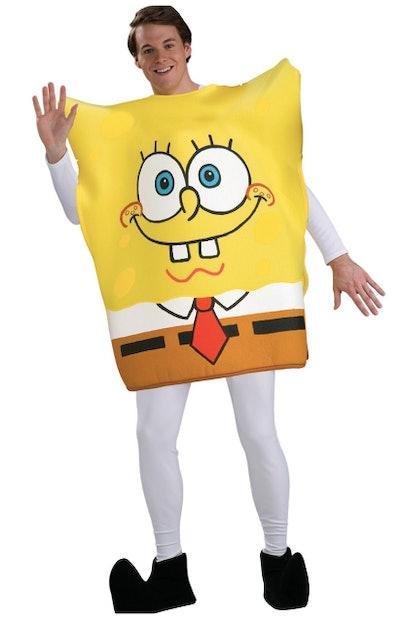 Teenager dressed as Spongebob