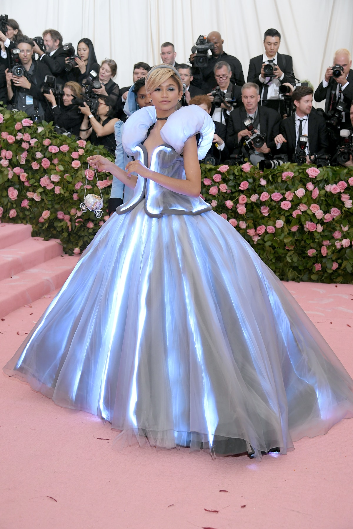 Zendaya attends The 2019 Met Gala Celebrating Camp: Notes on Fashion at Metropolitan Museum of Art o...