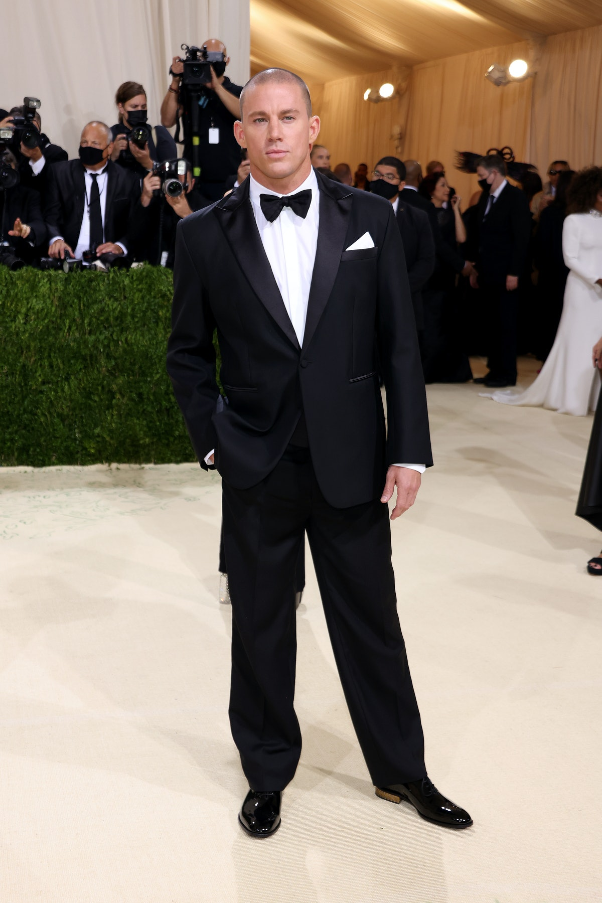 Channing Tatum attends The 2021 Met Gala Celebrating In America: A Lexicon Of Fashion at Metropolita...