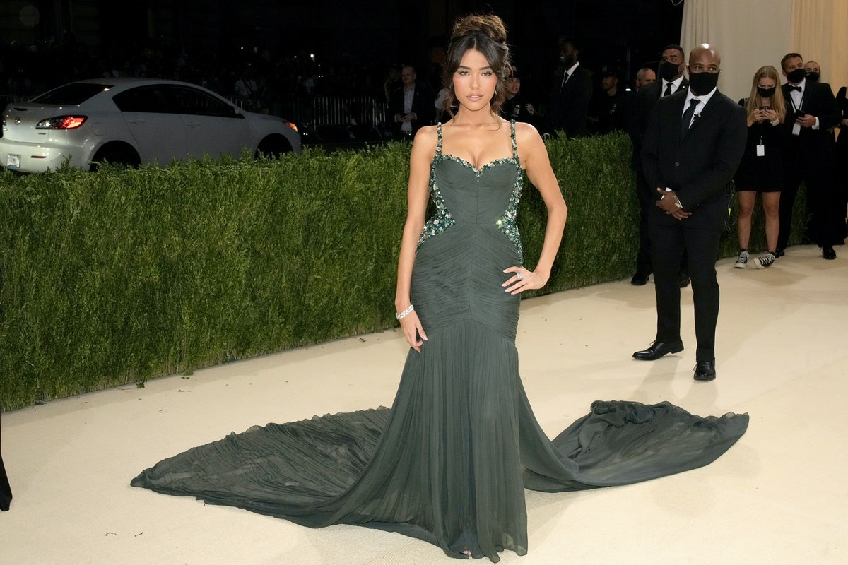 Madison Beer attends The 2021 Met Gala Celebrating In America: A Lexicon Of Fashion at Metropolitan ...