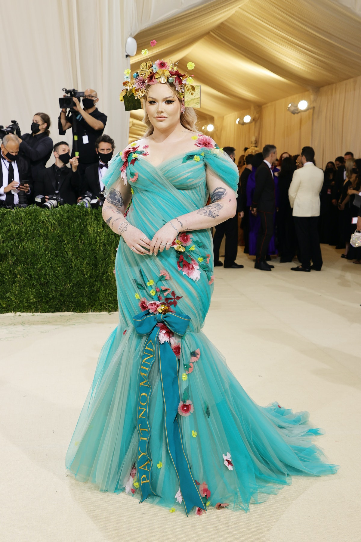 Nikkie de Jager attends The 2021 Met Gala Celebrating In America: A Lexicon Of Fashion at Metropolit...