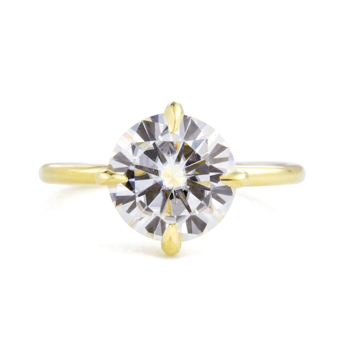 Valerie Madison Vera 2ct Diamond Solitaire Engagement Ring