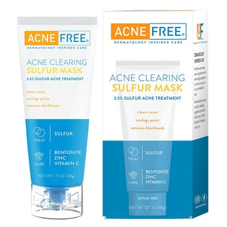 Acne Free Acne Clearing Sulfur Mask