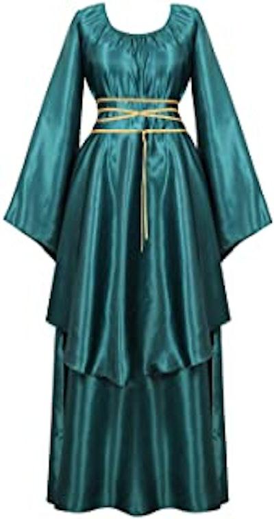 Women's Deluxe Medieval Victorian Costume