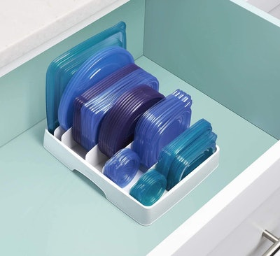 YouCopa StoraLid Food Container Lid Organizer