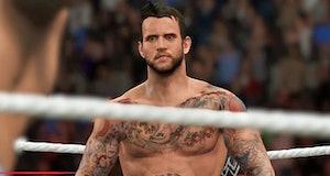 CM Punk from WWE 2K17