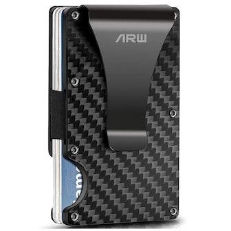 ARW Metal Money Clip Wallet