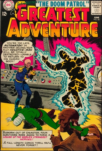 """""""The Doom Patrol"""" made its first appearance in My Greatest Adventure #80 (published in 1963)."""