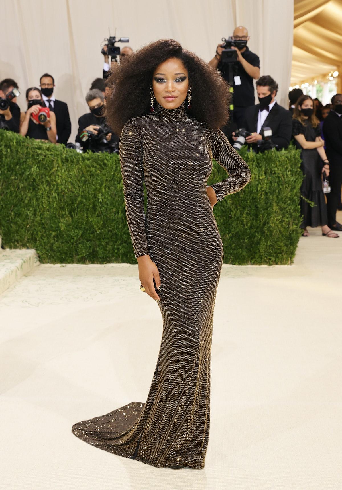 ککه پالمر در The Met 2021 Celebrating In America: A Lexicon of Fashion در Metropolitan M شرکت کرد ...