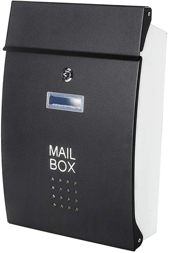 Decaller Safe Wall Mounted Mailboxes with Key Lock