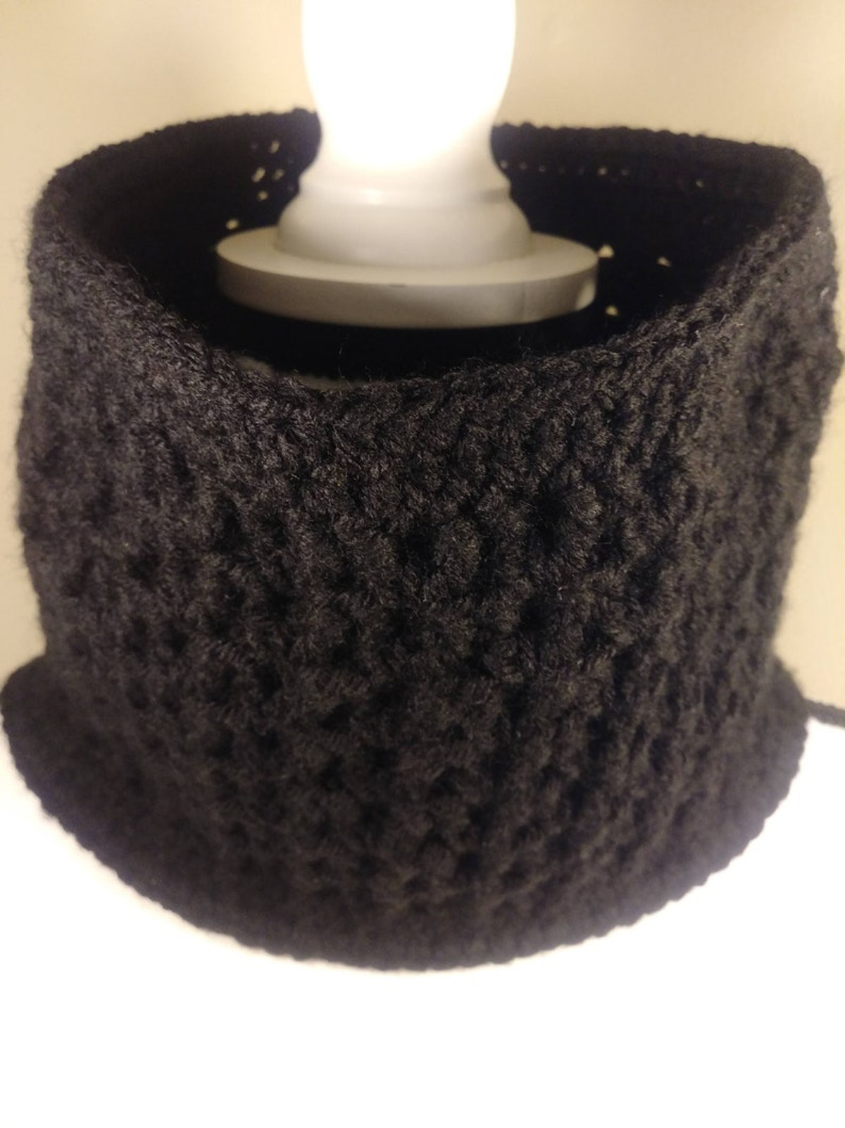 Cowl Scarf for a DIY Halloween Costume