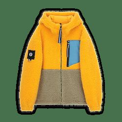Multicolor Fleece Jacket