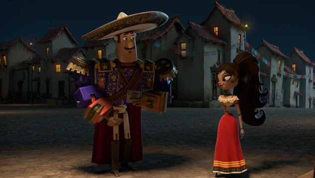 The Book of Life was produced by Mexican-American director Guillermo del Toro.