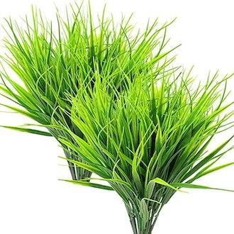 ZMOCEN Artificial Outdoor Plants (Set of 8)