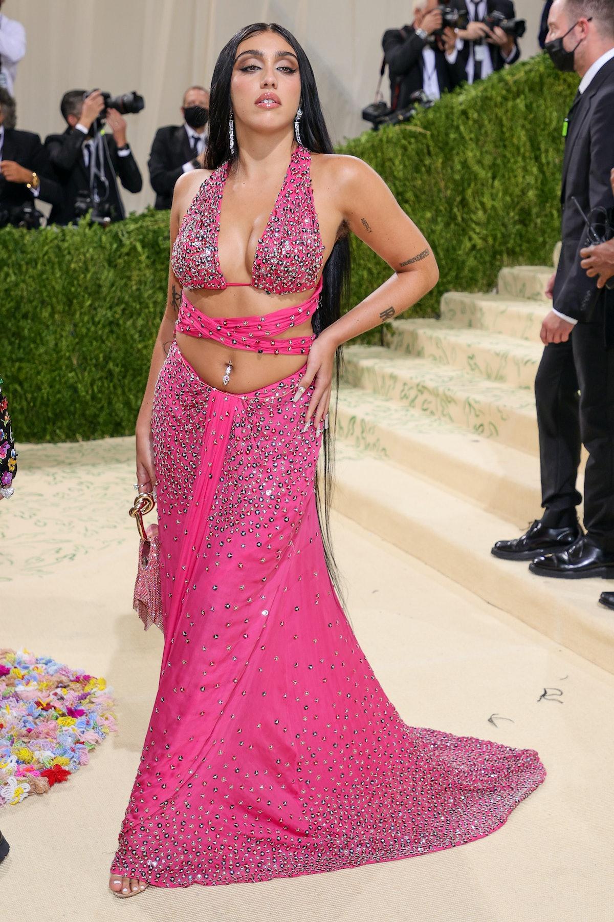 لورد لئون در جشن 2021 Met Gala Celebrating In America: A Lexicon of Fashion در Metropolitan شرکت کرد ...