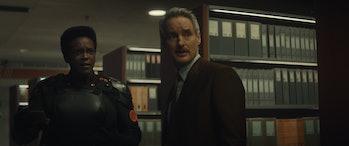 Wunmi Mosaku and Owen Wilson in Loki Episode 6