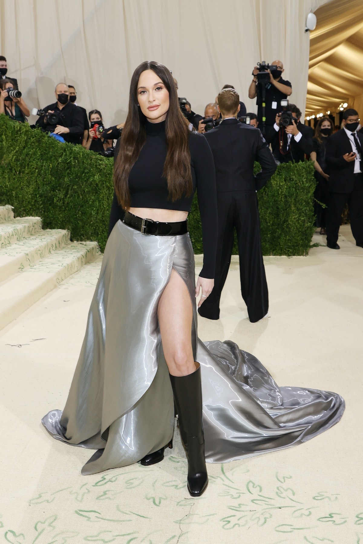 Kacey Musgraves attends The 2021 Met Gala Celebrating In America: A Lexicon Of Fashion at Metropoli...