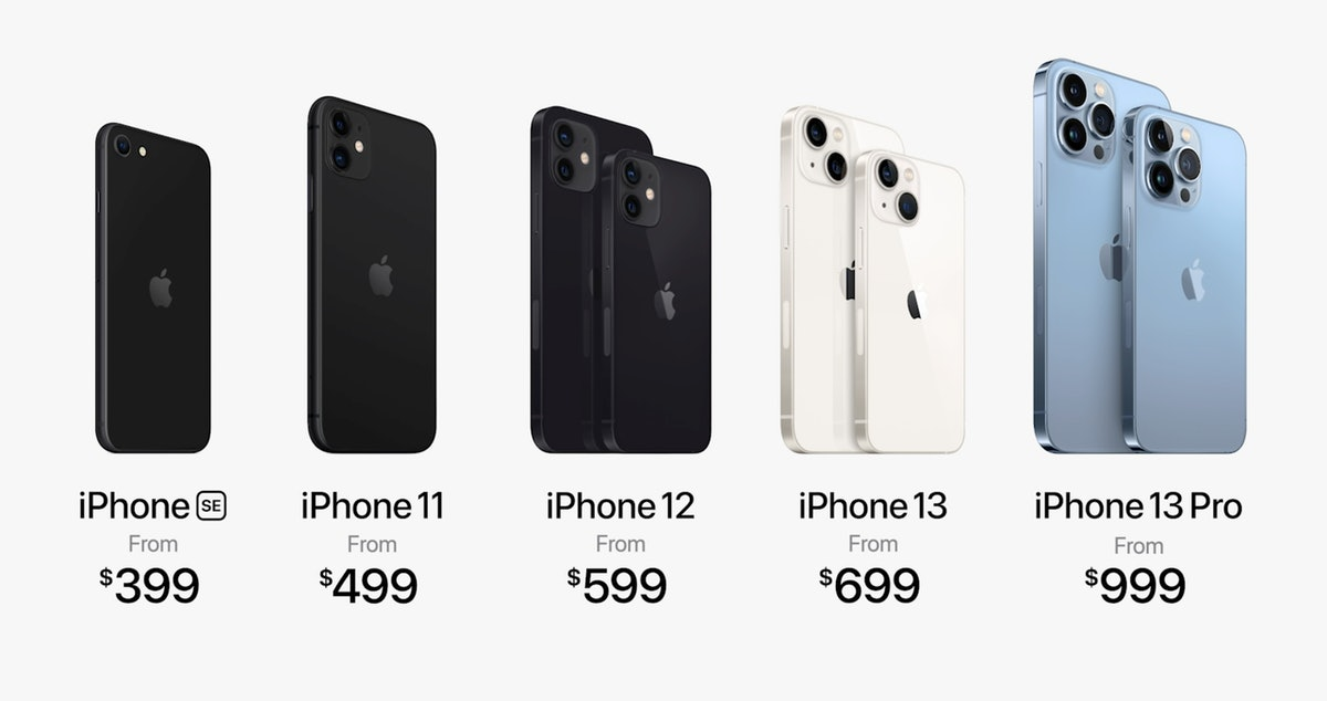 iPhone 12 is selling for $699, which is $100 less than its 2020 debut price.