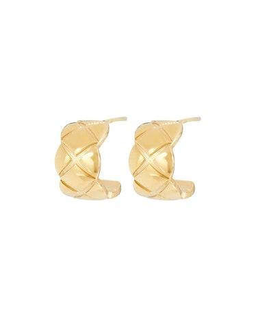 The Nneoma Huggie Hoop Earrings