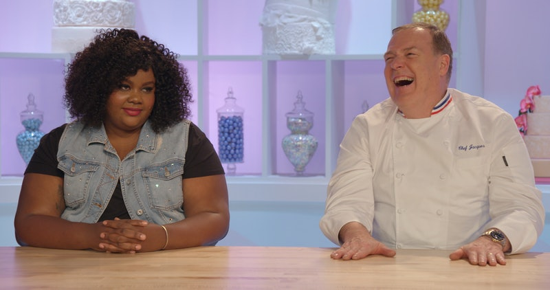 'Nailed It!' hosts Nicole Byer and Jacques Torres