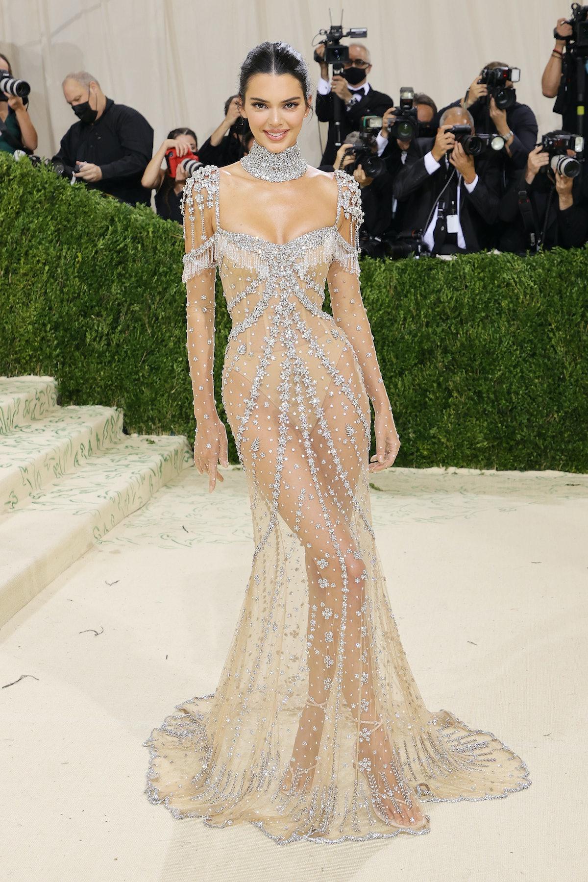 کندال جنر در جشن 2021 Met Gala Celebrating In America: A Lexicon of Fashion در متروپولیتا شرکت کرد ...