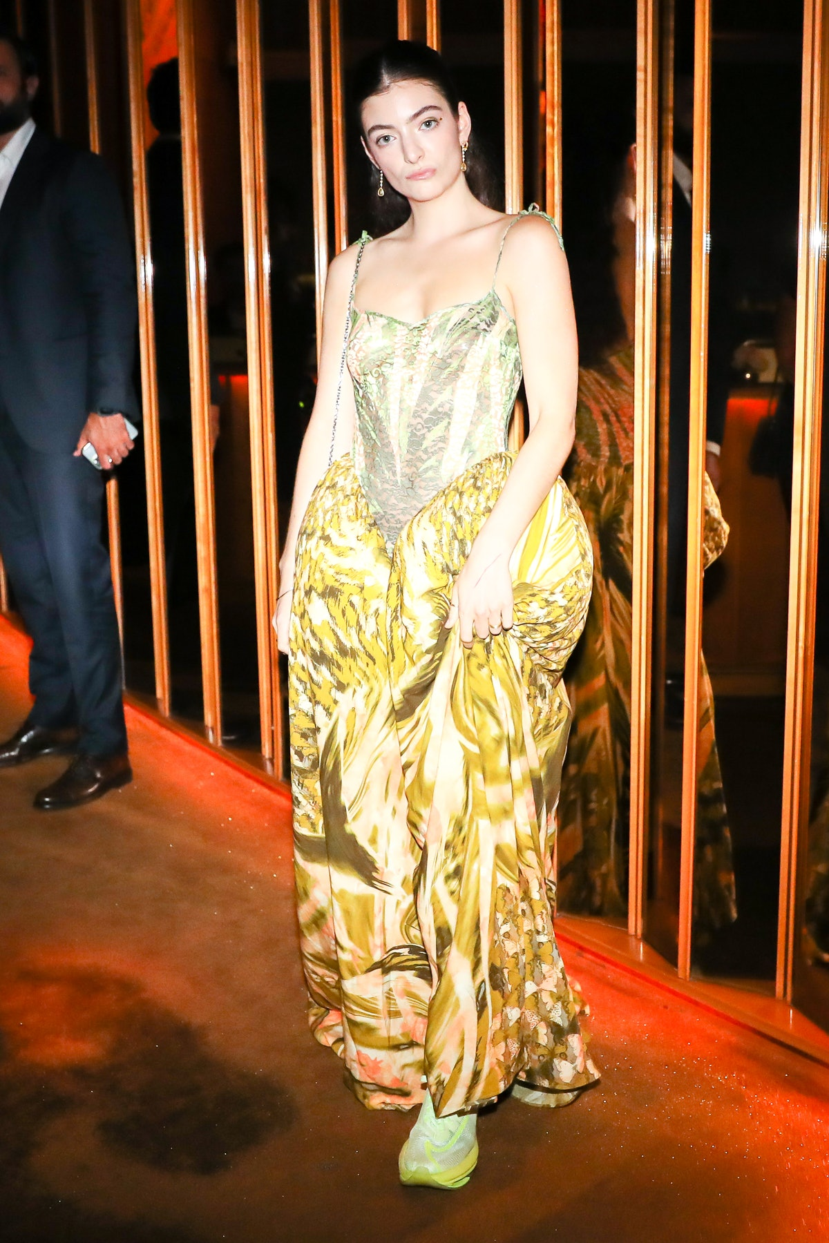 Lorde attends a Met Gala after-party at the Boom Boom Room on September 13, 2021.