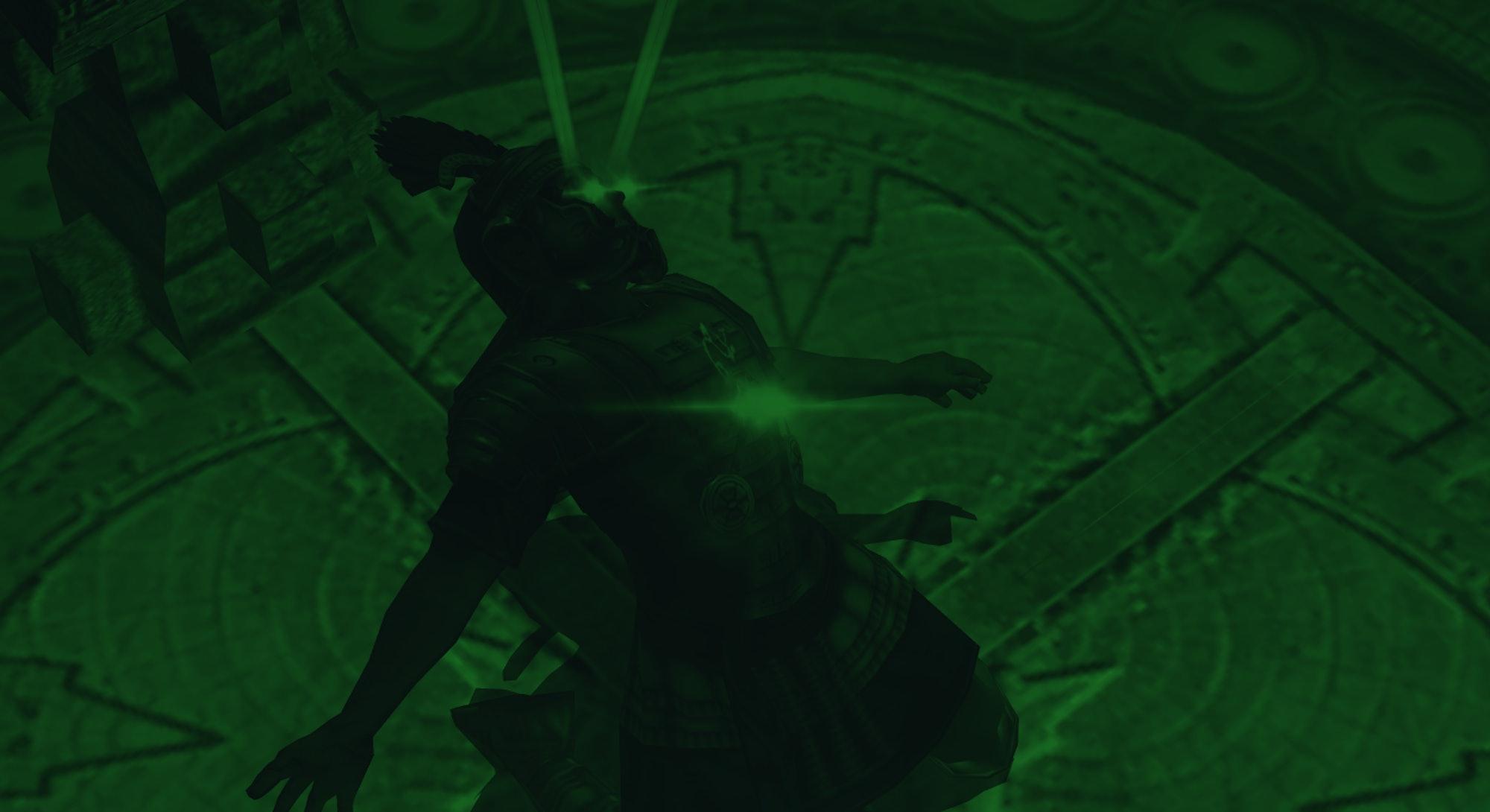 screenshot of skeleton from Eternal Darkness video game