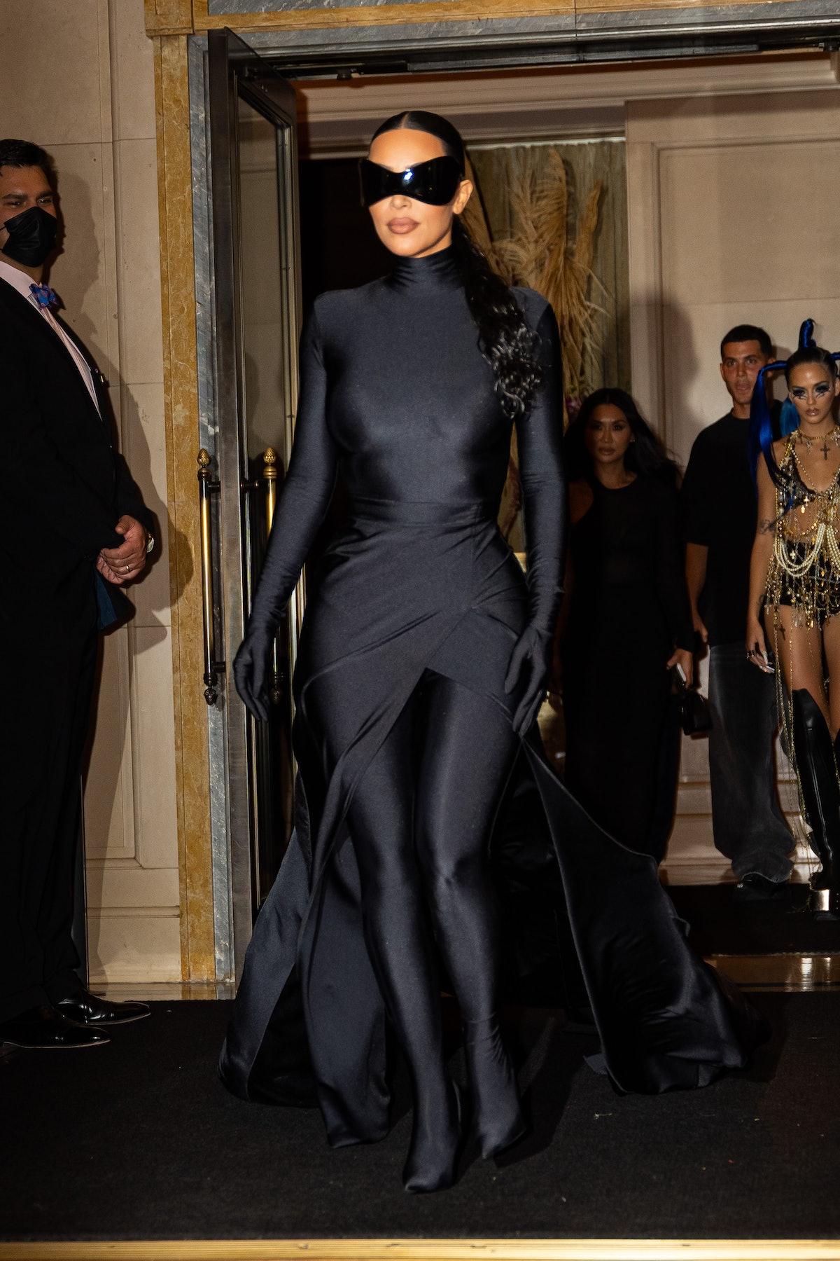 Kim Kardashian is seen in Midtown on September 13, 2021 in New York City.