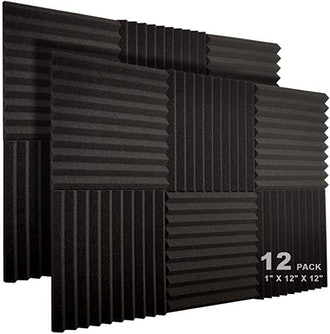 JBER 12 Pack Acoustic Foam Panel