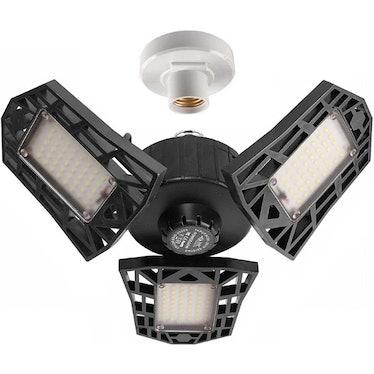 GHUSTAR LED Garage Light (2 Pack)
